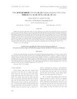 PHÂN LẬP VÀ XÁC ĐỊNH ĐẶC TÍNH SINH HỌC CỦA PORCINE CIRCOVIRUS TYPE 2 (PCV2) Ở ĐÀN LỢN NUÔI TẠI MỘT SỐ TỈNH MIỀN BẮC VIỆT NAM