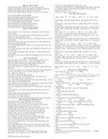 Tuyển tập hợp âm và lời bài hát