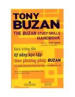 Sách hướng dẫn kỹ năng học theo phương pháp buzan