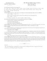 ĐỀ THI OLYMPIC (ngày 3 4 2011) môn hoá học 10