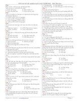 368 câu trắc nghiệm sinh tổng hợp hot