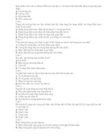 31 câu trắc nghiệm ôn tập kiểm tra 1 tiết lý 8_Trường Thủy phù