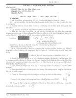 Tài liệu cơ bản và nâng cao vật lý lớp 11