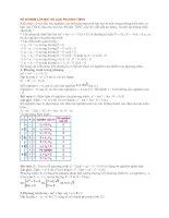 Các bài toán về số nghiệm của một số phương trình-Ôn thi vào 10(phần 3)
