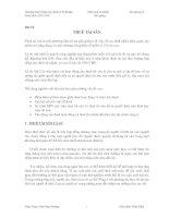 Kinh tế fulbright PHÂN TÍCH tài CHÍNH bài giảng 10