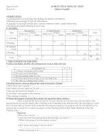 TEST 4 -ENGLISH 6 (JAP)
