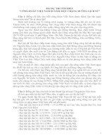 Bài dự thi tìm hiểu 80 năm công đoàn Việt Nam