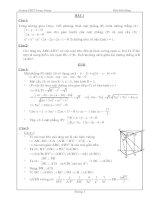 20 câu hỏi ôn tập hình học không gian có  lời giải