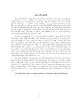 THỰC TRẠNG VÀ MỘT SỐ Ý KIẾN ĐÓNG GÓP VỀ  HOẠT ĐỘNG KIỂM TOÁN ĐỘC LẬP Ở NƯỚC TA HIỆN NAY