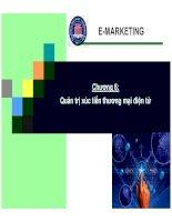 Bài giảng thương mại điện tử quản trị xúc tiến thương mại điện tử