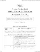 Luyện tập IELTS Reading