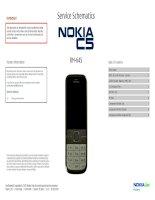 Nokia c5 00 RM645 schematics v1 0