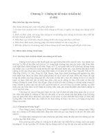Chương 2 : Chứng từ kế toán và kiểm kê