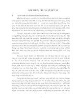 """""""Bước đầu nghiên cứu mối quan hệ giữa môi trường và phát triển trong quy hoạch khai thác vùng bãi bồi ven biển huyện Kim Sơn"""""""