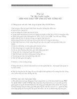 VĂN HOÁ GIAO TIẾP ỨNG XỬ NƠI CÔNG SỞ