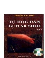 TỰ học đàn GUITAR SOLO tập 2