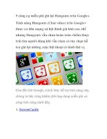 5 công cụ miễn phí ghi lại hangouts trên google