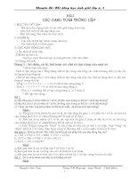 Chuyên đề BDHSG Toán Lớp 4-5