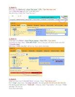 Tao Menu Lien Ket Website