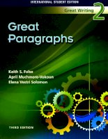 Great paragraphs 2   third edition