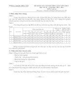 ĐỀ KHẢO SÁT CHUYÊN MÔN GIÁO VIÊN THCS HK II - NĂM HỌC 2012-2013 MÔN LỊCH SỬ - PHÒNG GD&ĐT PHÚC YÊN