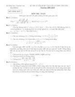 Đề thi vào lớp 10-Chuyên Trần Phú-HP-0910