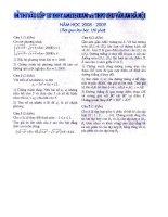 de thi + loi giai TS THPT Chu Van An Ha Noi 05 - 09