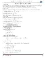 Hệ thống công thức vật lý lớp 12