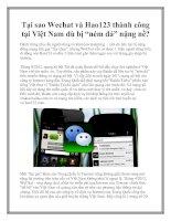 """Tại sao Wechat và Hao123 thành công tại Việt Nam dù bị """"ném đá"""" nặng nề?"""