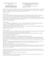 ĐỀ THI CHỌN HỌC SINH GIỎI TỈNH LỚP 9 THCS NĂM 2012 - 2013 MÔN LỊCH SỬ - SỞ GIÁO DỤC VÀ ĐÀO TẠO PHÚ THỌ