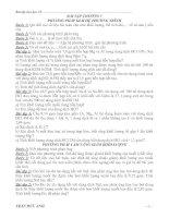 Bài tập chương 5