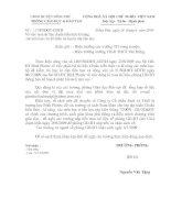 Số 117/PGDĐT-GDTH ngày 24/6/2009 V/v mua tài liện Chuẩn Kiến thứ-Kĩ năng và bộ đề kiểm tra
