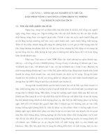 GIẢI PHÁP NÂNG CAO CHẤT LƯỢNG DỊCH VỤ PHÒNG  TẠI KHÁCH SẠN HACINCO