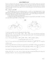 14 bài toán hình học phẳng trong đề thi HSG 2000 2010