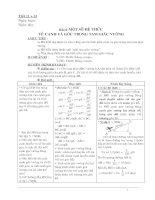 Giáo án  HH 9 (3 cột T11 - 12)