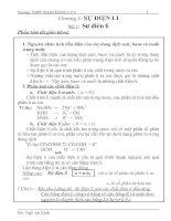 Bài tập tự luận và trắc nghiệm hóa 11 vô cơ