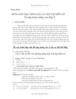 SKKN: HDHS giải bài tập điền số - K2