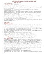 Tổng hợp các đề thi đề cương ôn tập VL8 phấn