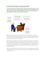 9 câu nên hỏi ngược nhà tuyển  dụng