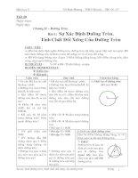 Giáo án  HH 9 (3 cột T20)