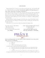 Đề thi Tiếng Việt 3