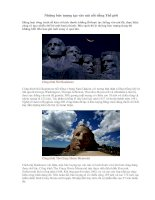 Những bức tượng tạc vào núi nổi tiếng Thế giới