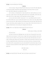NHỮNG BÀI VĂN HAY LỚP 4 -09