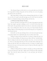 HÃY NÊU MỘT NỘI DUNG CỦA TƯ TƯỞNG TRIẾT HỌC PHƯƠNG ĐÔNG THỜI CỔ ĐẠI VÀ Ý NGHĨA PHƯƠNG PHÁP LUẬN RÚT RA