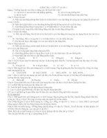 kiểm tra 1 tiết  kì 2(cb có đáp án)