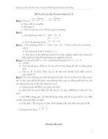 Đề ôn thi vào lớp 10 môn Toán và bài giải chi tiết  số 3