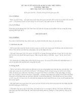 Đề và ĐA thi vào lớp 10 (Đề số 2)