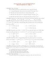 1000 câu hỏi trac nghiem VL ôn thi vào ĐHCĐ Phần 3.doc