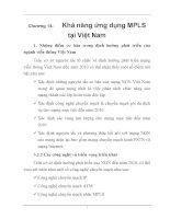 ĐỒ án THIẾT kế CÔNG NGHỆ CHUYỂN MẠCH NHÃN đa GIAO THỨC, chương 14