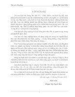 NHỮNG THUẬN LỢI VÀ KHÓ KHĂN CÓ ẢNH HƯỞNG ĐẾN SẢN XUẤT KINH DOANH CỦA CÔNG TY HOÁ CHẤT MỎ